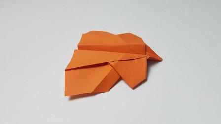 折纸王子磁力飞机,简单好玩,小朋友很喜欢