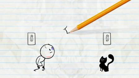 油管上播放上亿的爆笑铅笔动画-永远在悲剧的铅小贱
