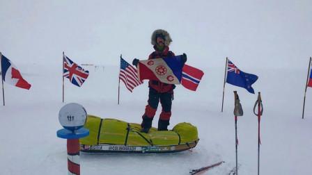美国男子独自一人穿越南极,仅用时54天,携带200多斤食物!