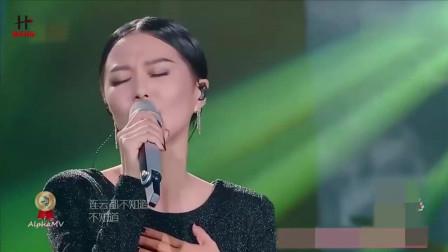 谭维维这首歌被乐坛公认唱的最好听的一首,实力唱功,霸气侧漏!