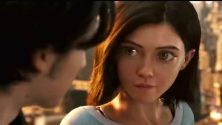 阿雨塔:战斗天使:最新预告片,27亿票房之后的又一科幻力作值得一看