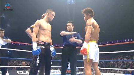 早期踢拳頂尖對決:安迪蘇瓦VS魔裟斗,經典錄像難得一見