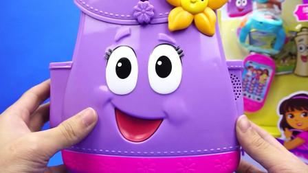 朵拉历险记外出小书包玩具爱冒险的朵拉
