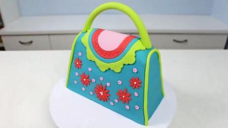 翻糖蛋糕之小清新范儿手提包, 和蔡依林的大牌包包能相提并论吗