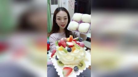 水果蛋糕雪媚娘