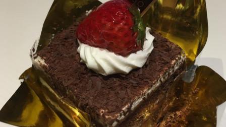 【团子的吃喝记录】上海甜品宜芝多:黑森林蛋糕(更多图片评论在微博:到处吃喝的团子)