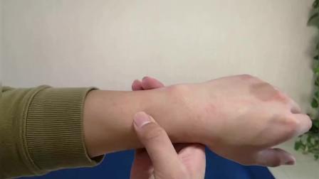 冬季常常会手脚冰凉 按压这一穴位 可促进血液循环 温和身体