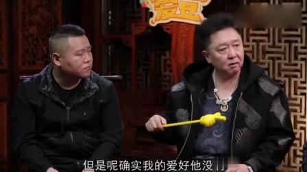 郭麒麟对文玩字画不感兴趣,郭德纲:早晚得让你老弟拿出去卖了!