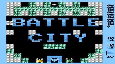 【小握解说】蓝砖墙看着真舒服《FC坦克大战:蓝色版》中篇