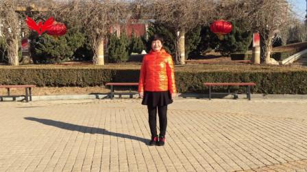 广场舞教学:《溜溜的姑娘像朵花》月亮舞队