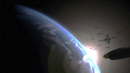人类流浪星际找到地球,却发现地球已经被摧毁!速看《太空堡垒卡拉狄加》第四季上