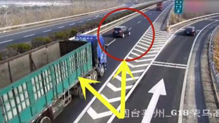 宝马司机开车行驶在路上,遇上嚣张面包车,悲剧发生了