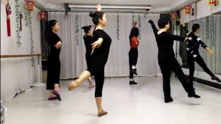 古典舞《凉凉》课堂片段 荷池幽香