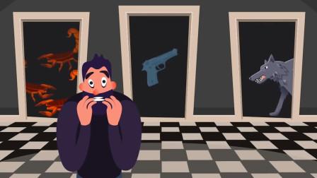脑力测试:面对生死抉择你会选择那扇门呢?为什么?