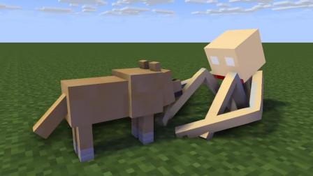 我的世界动画-超狗 vs SCP096-TigerEye35