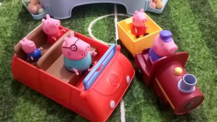 育儿玩具:小猪佩奇全集,猪爷爷的火车