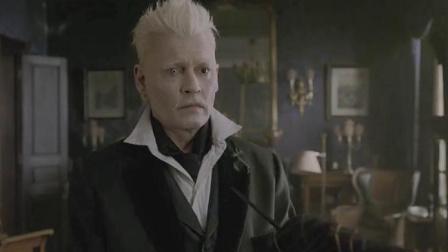 神奇动物二:邓布利多在镜子里,看见格林德沃和自己牵手,太虐了