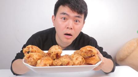 原来快餐店的炸鸡腿这么简单,学会后再也不用去外面吃鸡腿了