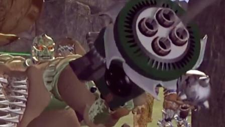变形金刚前传《超能勇士》, 犀牛勇士的格林机关枪好帅啊