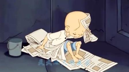 动画版三毛流浪记片尾曲, 很悲伤的歌曲, 小时候真是看哭了