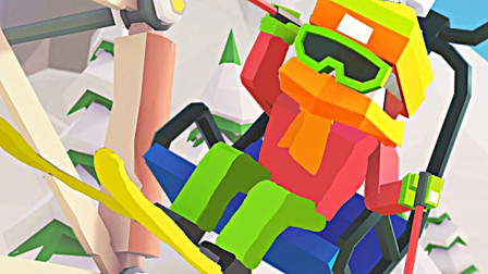 【小熙解说】滑雪场模拟器 爆笑兄妹接手祖传滑雪场造神奇拖牵绳