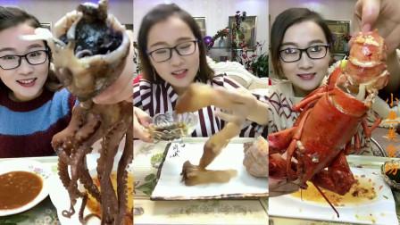 小鱼美食坊:大胃王吃大块肉,听着他发出的声音都感觉好吃
