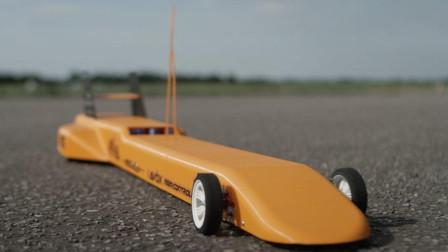 世界最快的3D遥控车,时速200公里,上高速都追不上