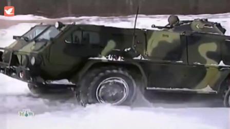 前苏联GAZ-3937多用途4X4装甲越野车
