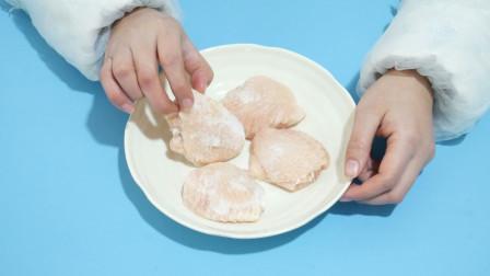 冰冻肉类不要再用热水解冻了,教你简单处理一下,就能够快速解冻