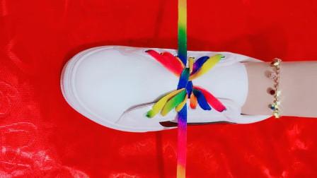 超有个性的大蝴蝶结鞋带系法见了都会忍不住多看几眼你想学吗