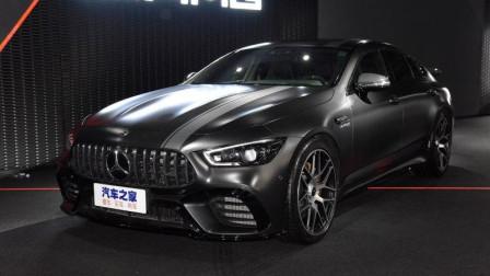 19款奔驰AMG GT四门版跑车,3.0T超强动力,果断放弃帕拉梅拉