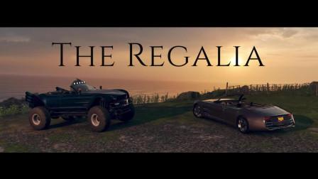 《极限竞速:地平线4》联动《最终幻想15》雷加利亚宣传片