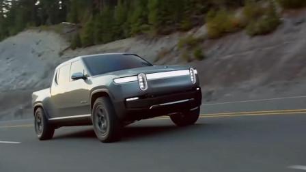2020款 美国初创电动汽车品牌 RIVIAN R1T 林院长频道