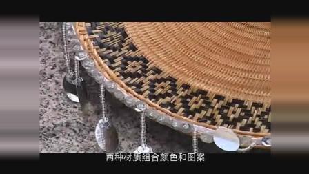 成卓文化-节日派-白面神人舞逞祥——环江毛南族分龙节-传统花竹帽