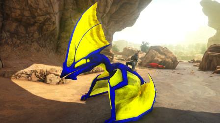 方舟生存进化永恒的焦土 05 骑着古神翼龙去捕捉霸王龙