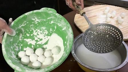 马上元宵节了,农村小伙教你自制花生黑芝麻汤圆,做法简单又好吃