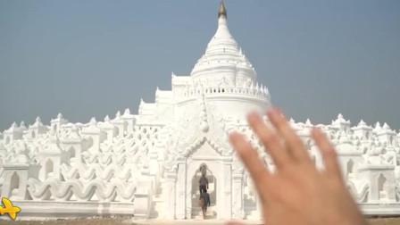 被称为世界的中心,也是缅甸最优雅的佛塔,七层波浪围绕的奶油蛋糕