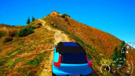 gta5: 买了一辆沃尔沃的xc40,去爬山怎样?