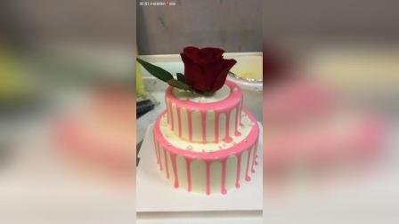 双层淋面蛋糕