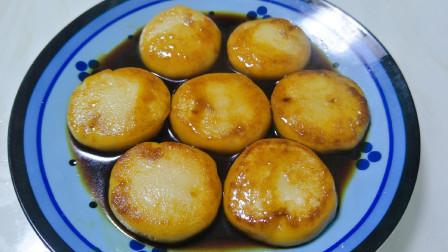 一碗糯米粉30克红糖,教你一个独特的秘制小吃做法,软糯香甜,出锅就被抢光