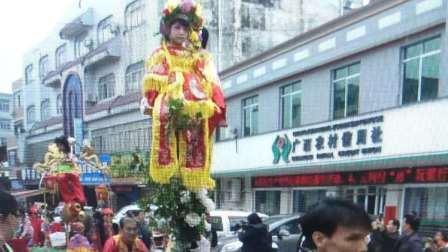 广西北流市六靖年宵节庆典