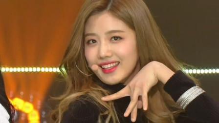 新女团CherryBullet出道韩秀榜最新舞台 闪闪发光的樱桃子弹