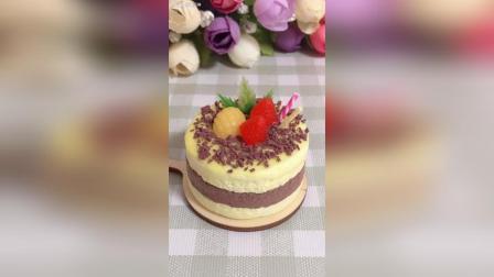 纸粘土DIY迷你小蛋糕