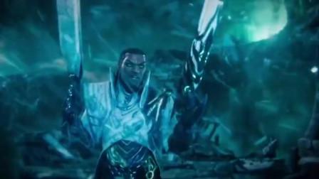 英雄联盟大型游戏,亚索最新官宣电影哦破晓,画面很好看!