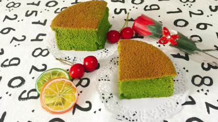 新手可以试试这款配方:抹茶戚风蛋糕,成功率还是很高的,味道也不错哦!