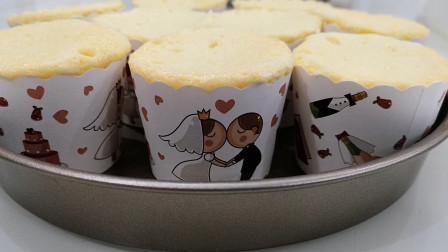 纸杯蛋糕这样做,太美味了,营养又健康,全家人抢着吃!