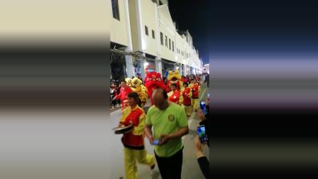 梅州市梅江区老街猪年正月十五闹年宵