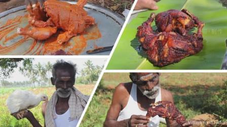 23 舌尖上的印度看印度三叔给你做《印式炸鸡》,整个看起来像奥尔良烤鸡啊