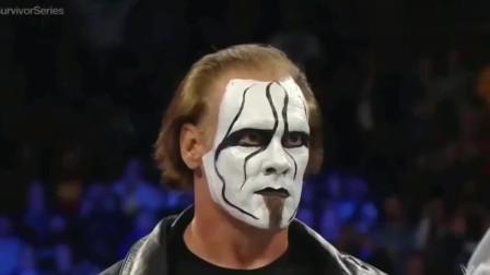 WWE赛事 当蝎子斯汀进入竞技场 吞噬所有对手的时候 不管是谁