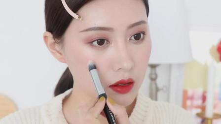 慕斯红橙妆|亚洲人适合的橘色妆容, 冬天也要做暖暖的冬美人